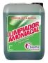 AMONIA FRESH. Produto limpeza amoniacado multisuperfícies