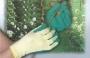 Luvas em Latex Verde Supote Têxtil