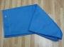 Saco de cor de lona plastificada Azul